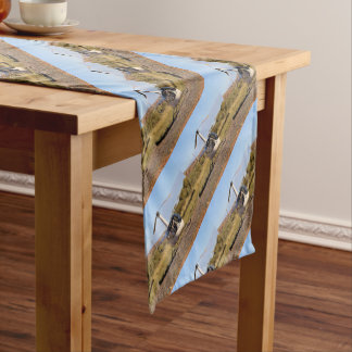 Helicopter (white), Outback Australia 2 Short Table Runner