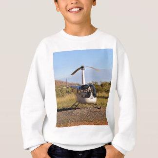 Helicopter (white), Outback Australia 2 Sweatshirt