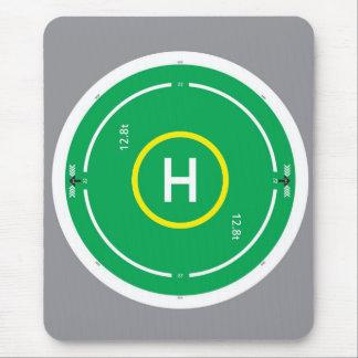 HeliDECK green Mousepads