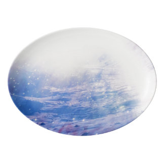 Helios Porcelain Serving Platter