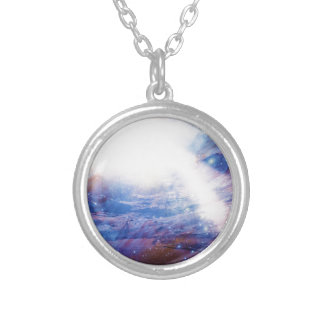 Helios Silver Plated Necklace
