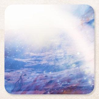 Helios Square Paper Coaster