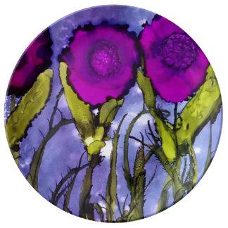 Heliotrope Art Plate