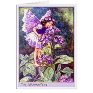 Heliotrope Fairy Card