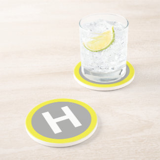 Helipad Sign Coaster