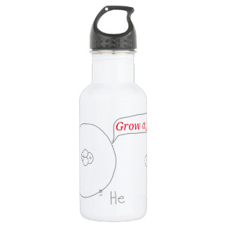 Helium and Hydrogen ion - Grow a pair! 532 Ml Water Bottle