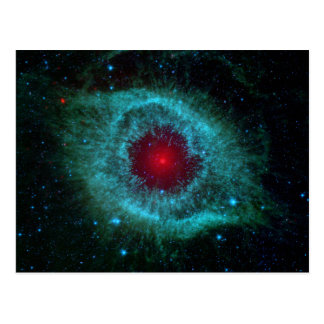 Helix Nebula, Beautiful Stars in the Galaxy Postcard