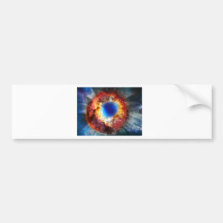 Helix Nebula Bumper Sticker