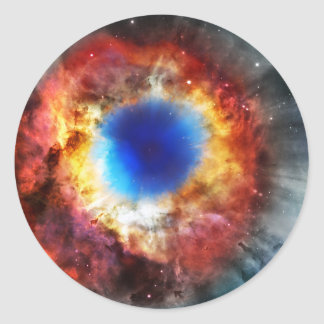 Helix Nebula Classic Round Sticker