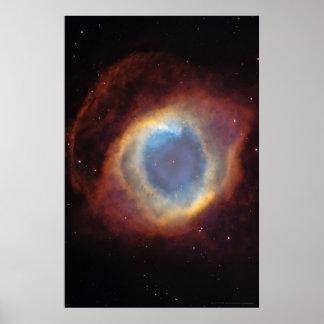 Helix Nebula Envelope 20x30 (18x27) Poster