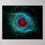 Helix Nebula in space