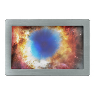Helix Nebula Rectangular Belt Buckles
