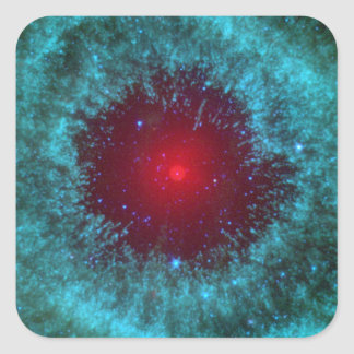 Helix Nebula Square Sticker