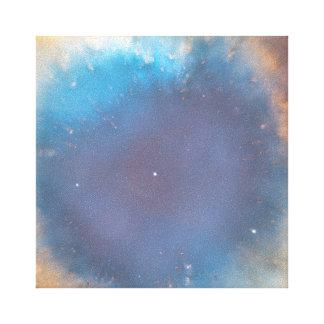 Helix Nebula's Eye Wrapped Canvas
