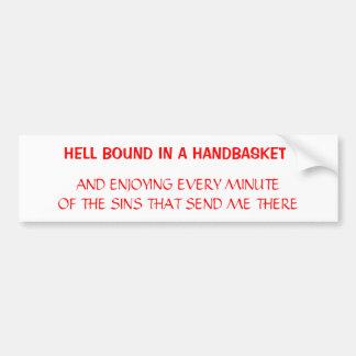 Hell Bumper Sticker