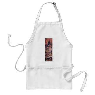 Hell.,  By Hieronymus Bosch (Best Quality) Standard Apron