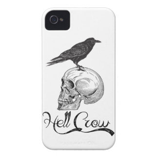 Hell Crow Halloween iPhone 4 Case-Mate Case