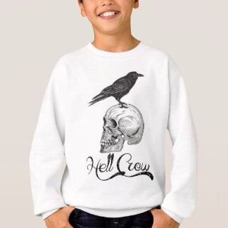 Hell Crow Halloween Sweatshirt