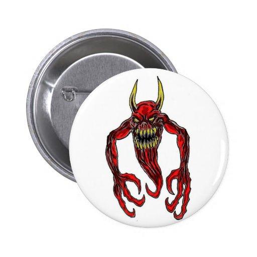 Hell Demon Art Buttons