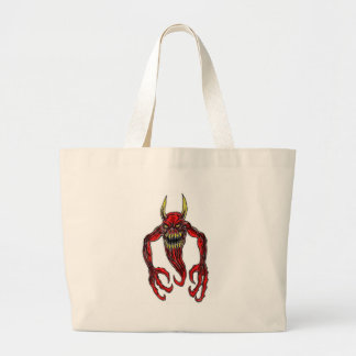 Hell Demon Art Jumbo Tote Bag