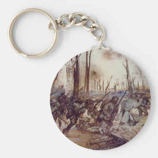 Hell Fighters from Harlem by H. Charles McBarron Keychains
