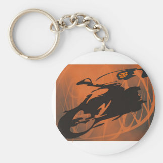 Hell Fire Keychain