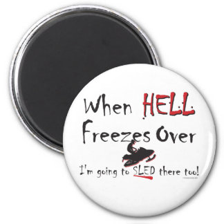 HELL-FREEZES-on-ash-[Conver 2 Inch Round Magnet