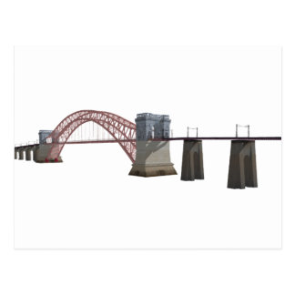 Hell Gate Bridge: 3D Model: Postcard