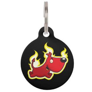 Hell Hound Pet Tag