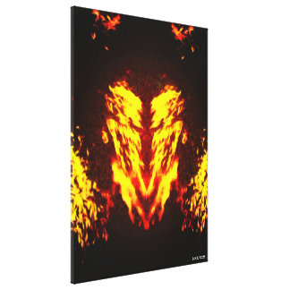 Hell Inside Canvas Print