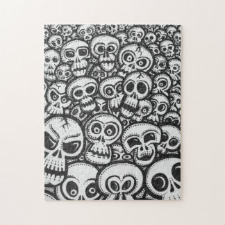 Hell Of Skulls Jigsaw Puzzle