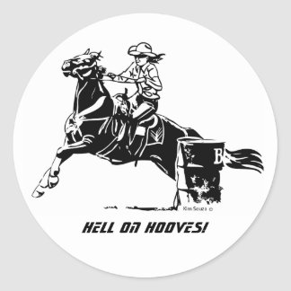 Hell On Hooves! - Sticker
