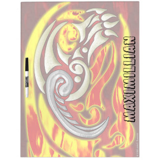 Hell On Wheels Large Dry Erase Dry Erase Board