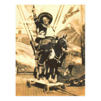 HELL ON WHEELS POSTCARD