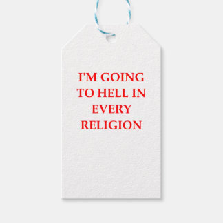 HELL PACK OF GIFT TAGS