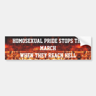 HELL PRIDE BUMPER STICKER