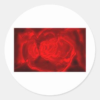 hell round sticker