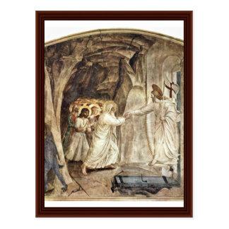 Hell Salvation Of Old Testament People (Adam) Postcard