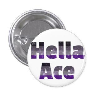 Hella Ace Button White