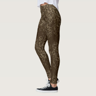 Hella Bubbles Quirky Fun Soda Leggings