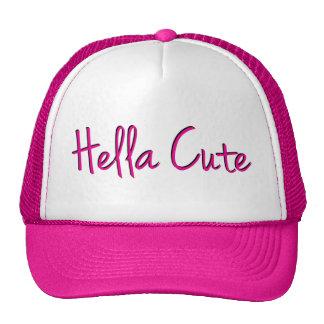 Hella Cute Pink Mesh Hat