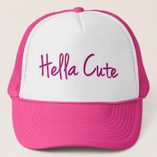Hella Cute Pink Trucker Hat