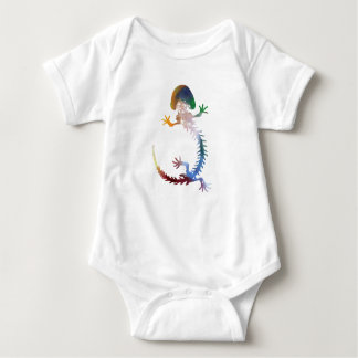 Hellbender Skeleton Baby Bodysuit