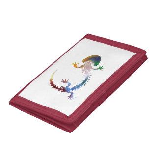 Hellbender Skeleton Tri-fold Wallet