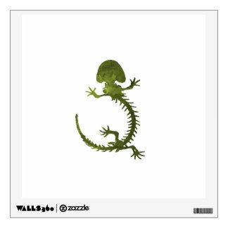 Hellbender skeleton wall sticker