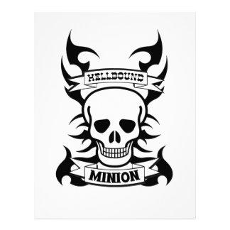 Hellbound Minion Letterhead