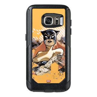 Hellcat City Skyline Graphic OtterBox Samsung Galaxy S7 Case