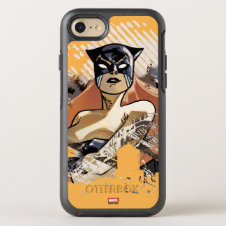 Hellcat City Skyline Graphic OtterBox Symmetry iPhone 8/7 Case