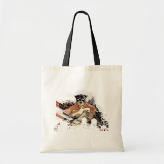 Hellcat City Skyline Graphic Tote Bag