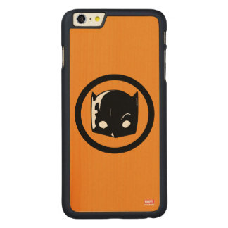 Hellcat Logo Carved Maple iPhone 6 Plus Case